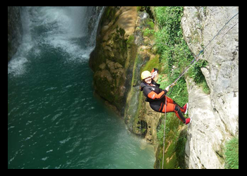 canyoning -benasque